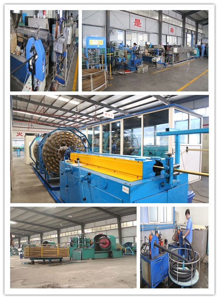 hydraulic rubber hose factory